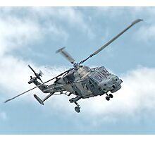Royal Navy Black Cats Lynx Wildcat HMA2 Photographic Print