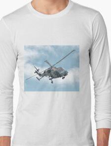 Royal Navy Black Cats Lynx Wildcat HMA2 Long Sleeve T-Shirt