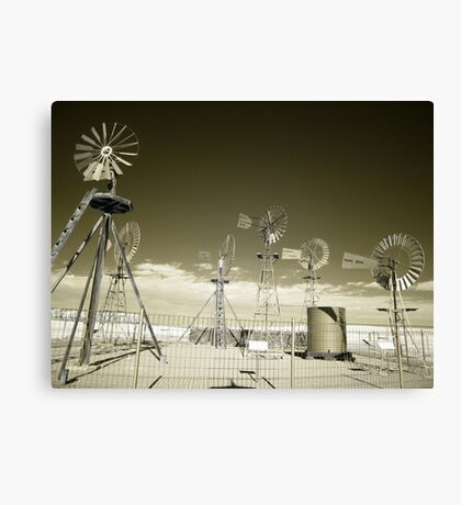 Mechanoid Madness - Metal Monster Menagerie 1 Canvas Print