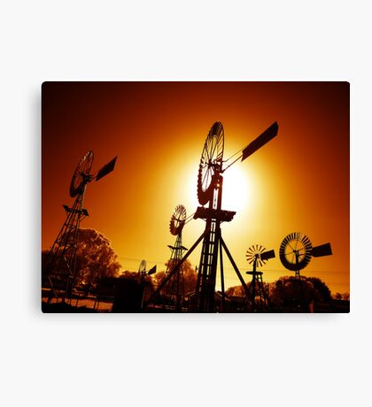 Mechanoid Madness - Metal Monster Menagerie 2 Canvas Print