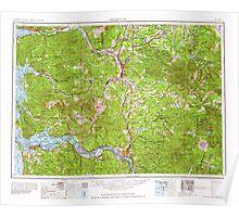 USGS Topo Map Washington Hoquiam 239708 1962 250000 Poster