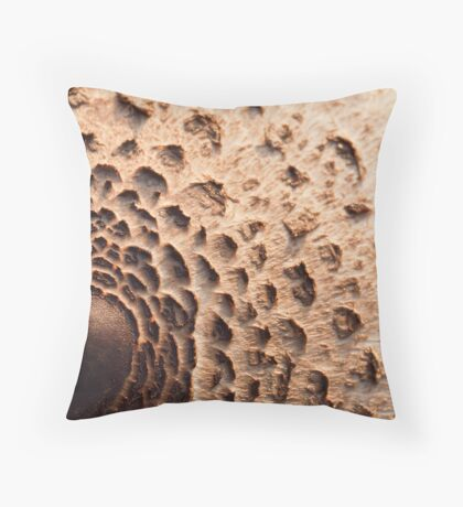 Mushroom Cap Throw Pillow