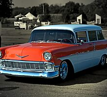 1956 Chevrolet Station Wagon by TeeMack