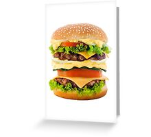Hamburger Greeting Card