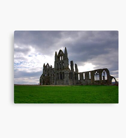 Whitby Abbey #2 Canvas Print