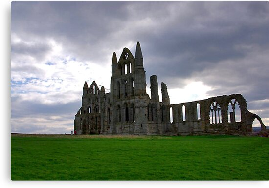 Whitby Abbey #2 by Trevor Kersley