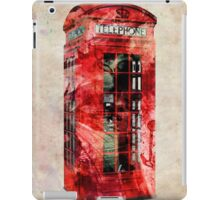 London Telephone Box Urban Art iPad Case/Skin