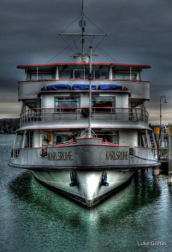 Karlsruhe Ferry by Luke Griffin