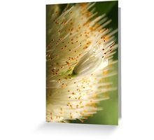 Golden Sparkles Greeting Card