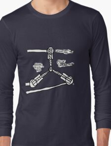 The TIME FLUX CAPACITOR!! Long Sleeve T-Shirt