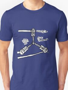 The TIME FLUX CAPACITOR!! Unisex T-Shirt
