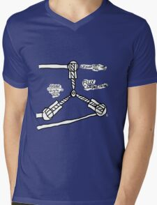The TIME FLUX CAPACITOR!! Mens V-Neck T-Shirt