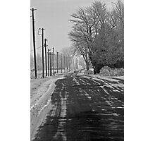Broken Road Photographic Print
