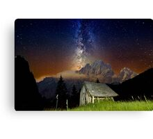 Take me to the place i love Canvas Print