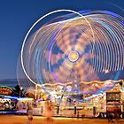 Spin Me Right Round Baby, Right Round.... by Helen Vercoe
