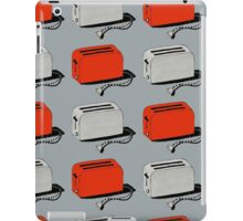 Toaster (red & grey) iPad Case/Skin