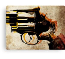 Revolver Trigger Canvas Print