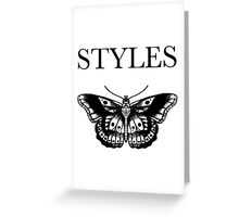 Butterfly Styles Tattoo Greeting Card