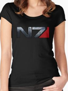 Mass Effect N7 Citadel Women's Fitted Scoop T-Shirt