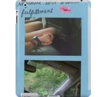"""""""infinite love without fulfillment"""" iPad Case/Skin"""