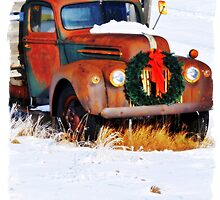 Idaho Christmas Truck by IMAGETAKERS