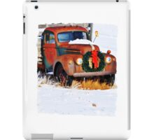 Trukin To Save Christmas iPad Case/Skin