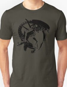 Alien Black & White T-Shirt
