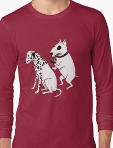 Pittbul tattooing Dalmatian Long Sleeve T-Shirt