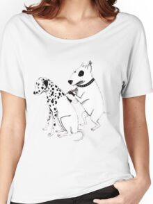 Pittbul tattooing Dalmatian Women's Relaxed Fit T-Shirt