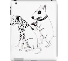 Pittbul tattooing Dalmatian iPad Case/Skin