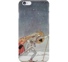 'So the man gave him a pair of snow shoes' iPhone Case/Skin