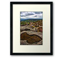 Stanage Edge, Derbyshire Framed Print