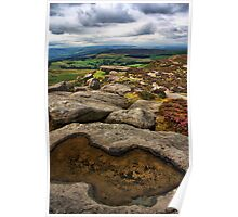 Stanage Edge, Derbyshire Poster