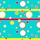 Happy Rainbow Circles by t0nialar