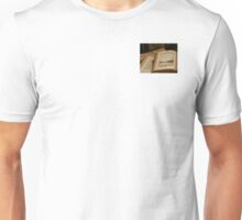 Santa Monica Pier Drawing in old Book Unisex T-Shirt