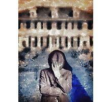 Mystery Man Photographic Print