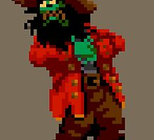 LeChuck's death (Monkey Island 2) by themasrix