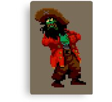 LeChuck's death (Monkey Island 2) Canvas Print