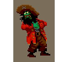 LeChuck's death (Monkey Island 2) Photographic Print