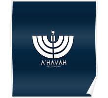 A'HAVAH FELLOWSHIP LOGO Poster
