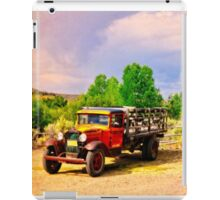 1931 Ford Service Truck iPad Case/Skin