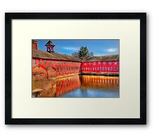 collinsville axe factory  Framed Print