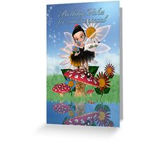 Someone Special Birthday Card With Sugar Plum Fairy  Greeting Card