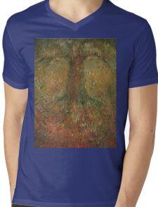 Invisible Tree Mens V-Neck T-Shirt