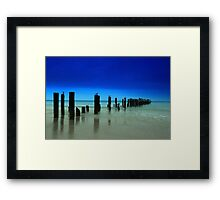 Naples blues Framed Print