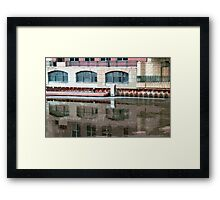 Reflection of Milwaukee River ©  Framed Print