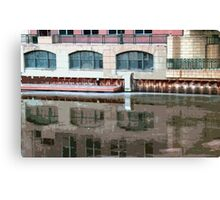Reflection of Milwaukee River ©  Canvas Print