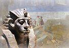 Amenemhat III Pharaoh of Egypt by buttonpresser