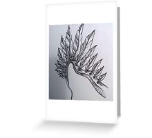 ::: Feathered ::: Greeting Card