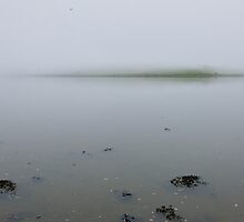 the fog descends; Courtmacsherry, West Cork, Ireland by Andrew Jones